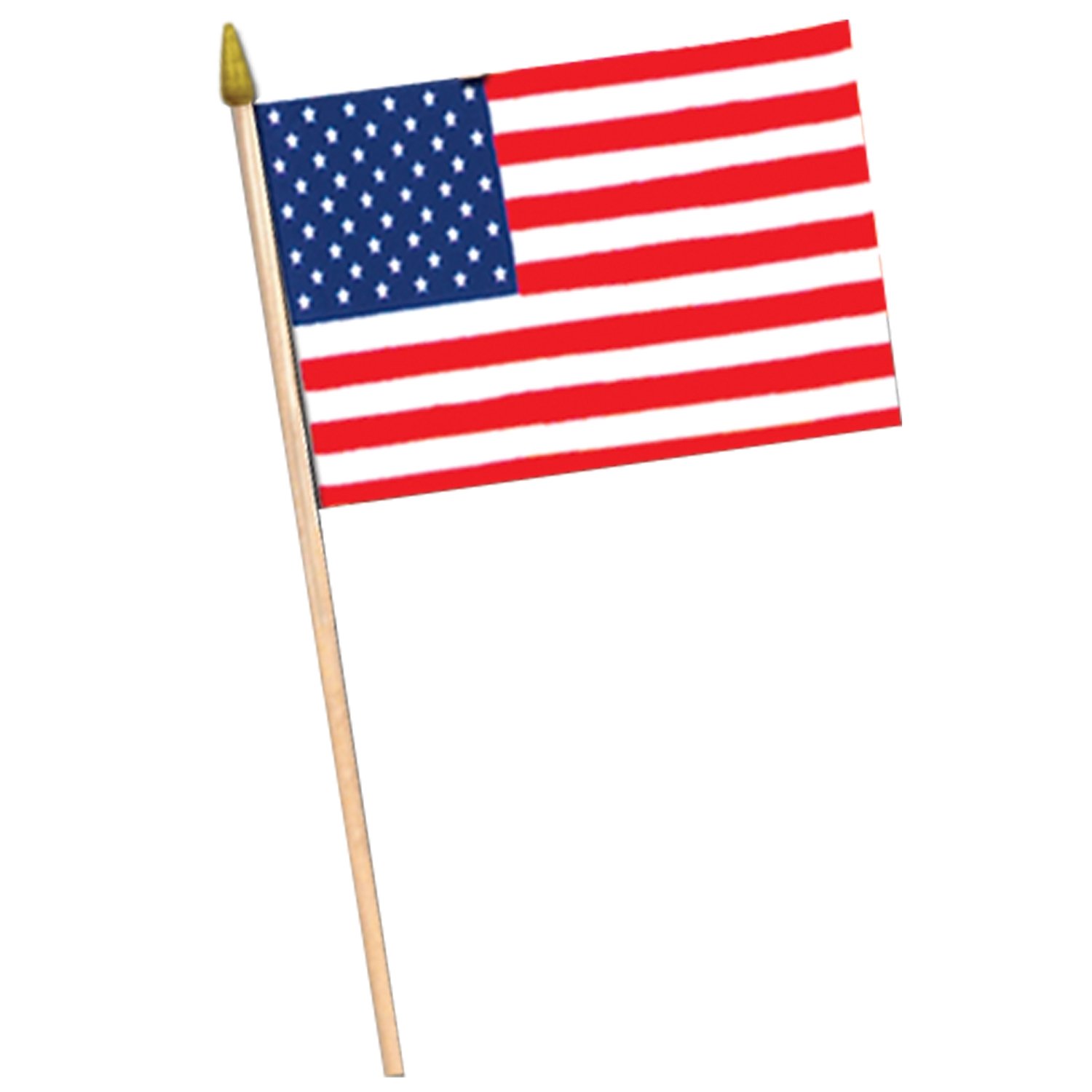 American Flag - Rayon (Pack of 12) .