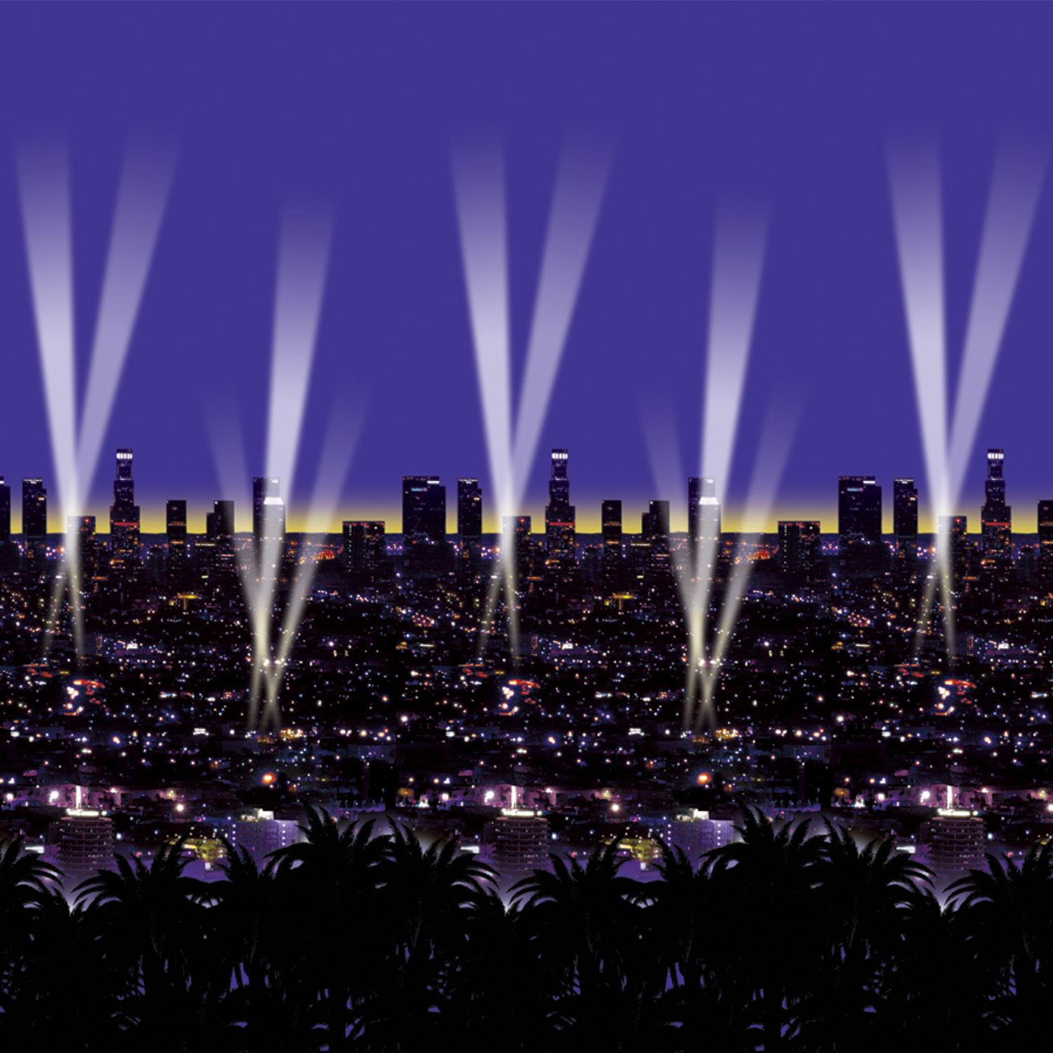 Skyline Backdrop (Pack of 6) backdrop, photos, new years eve, hollywood, city, skyline, inexpensive, wholesale, bulk