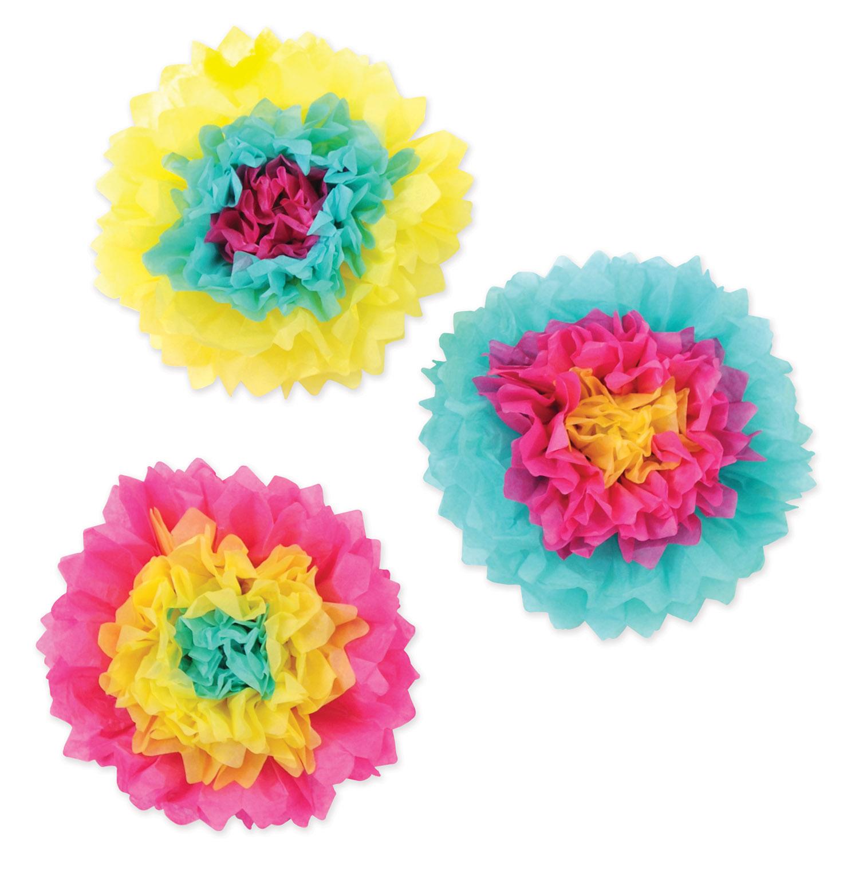 Inexpensive 10 Tissue Flowers