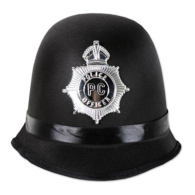 Bobby Police Hat of Halloween or Themed Party