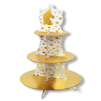 Unicorn Cupcake Stand (Pack of 12)
