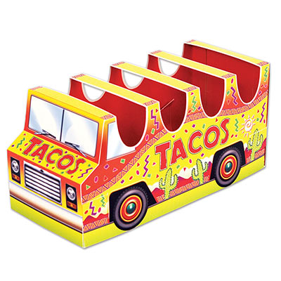 3-D Taco Truck Centerpiece for Fiesta Party
