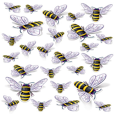 Bee Cutouts (Pack of 312)  Bee Cutouts, bee, spring, easter, decoration, wholesale, inexpensive, bulk