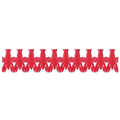 Red Crawfish Garland Hanging Decoration