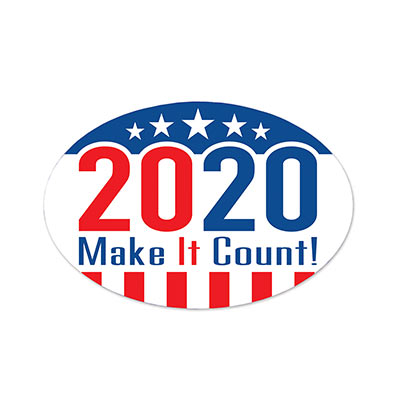 """2020"" Make It Count! Peel N Place"