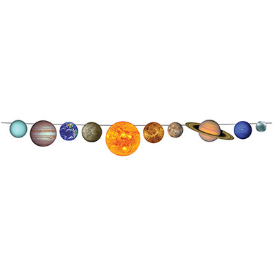Solar System Streamer themed party