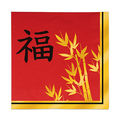 Asian Luncheon Napkins (Pack of 192) Asian, Luncheon, Napkins, Eating, food, international, chinese new year, new years eve