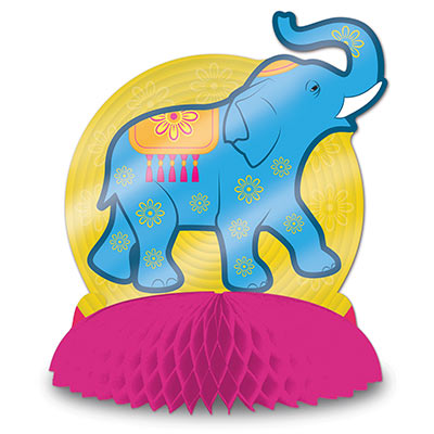 Foil Diwali Centerpiece (Pack of 12) Foil Diwali Centerpiece, diwali, elephant, centerpiece, decoration, wholesale, inexpensive, bulk