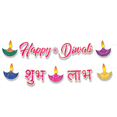 Foil Diwali Streamer Set (Pack of 12) Foil Diwali Streamer Set, Diwali, streamer, decoration, wholesale, inexpensive, bulk