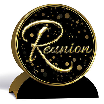 3-D Reunion Centerpiece (Pack of 12) 3-D Reunion Centerpiece, reunion, centerpiece, decoration, wholesale, inexpensive, bulk