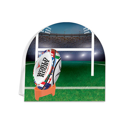 3-D Rugby Centerpiece (Pack of 12)