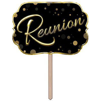 Reunion Yard Sign (Pack of 6) Reunion Yard Sign, reunion, yard sign, decoration, wholesale, inexpensive, bulk