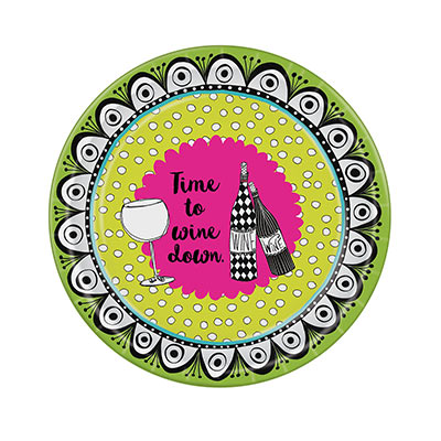 Dolly Mamas Wine Plates (Pack of 96) Dolly Mamas Wine Plates, dolly mama, wine plates, wine, plates, birthday, wholesale, inexpensive, bulk