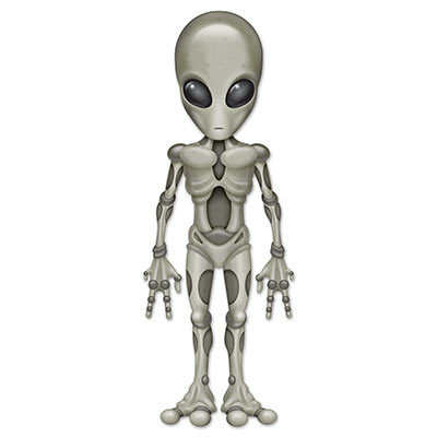 Jointed Alien (Pack of 12) Jointed Alien, alien, outer space, decoration, birthday, Halloween, wholesale, inexpensive, bulk