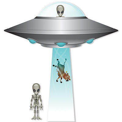 Jumbo Flying Saucer Cutout Set (Pack of 12) Jumbo Flying Saucer Cutout Set, flying saucer, alien, space, birthday, wholesale, inexpensive, bulk