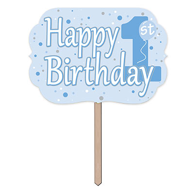 1st Birthday Yard Sign (Pack of 6) 1st Birthday Yard Sign, 1st birthday, yard sign, decoration, birthday, wholesale, inexpensive, bulk