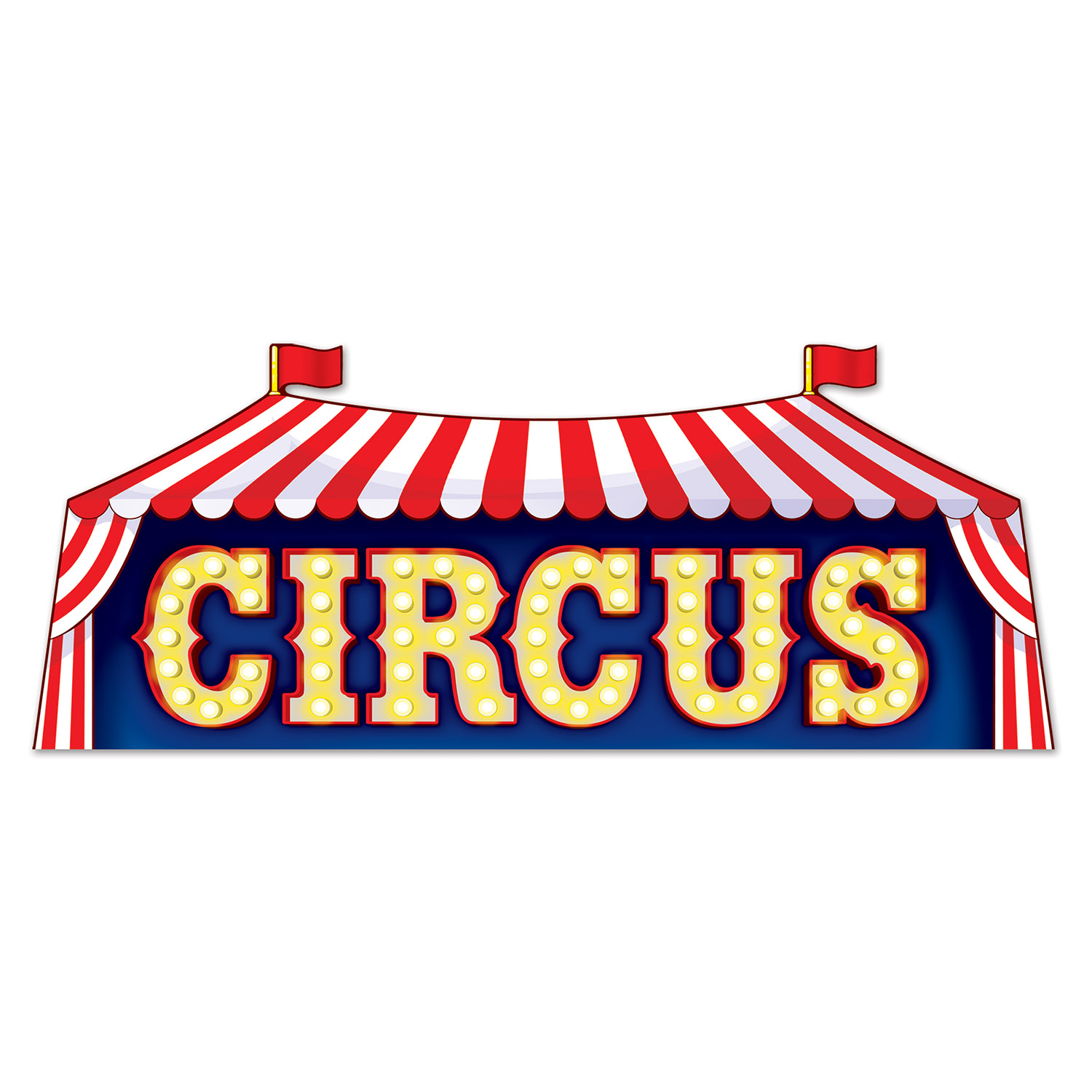 Circus Sign (Pack of 24) Circus sign, circus, new years eve, summer, decoration, wholesale, inexpensive, bulk