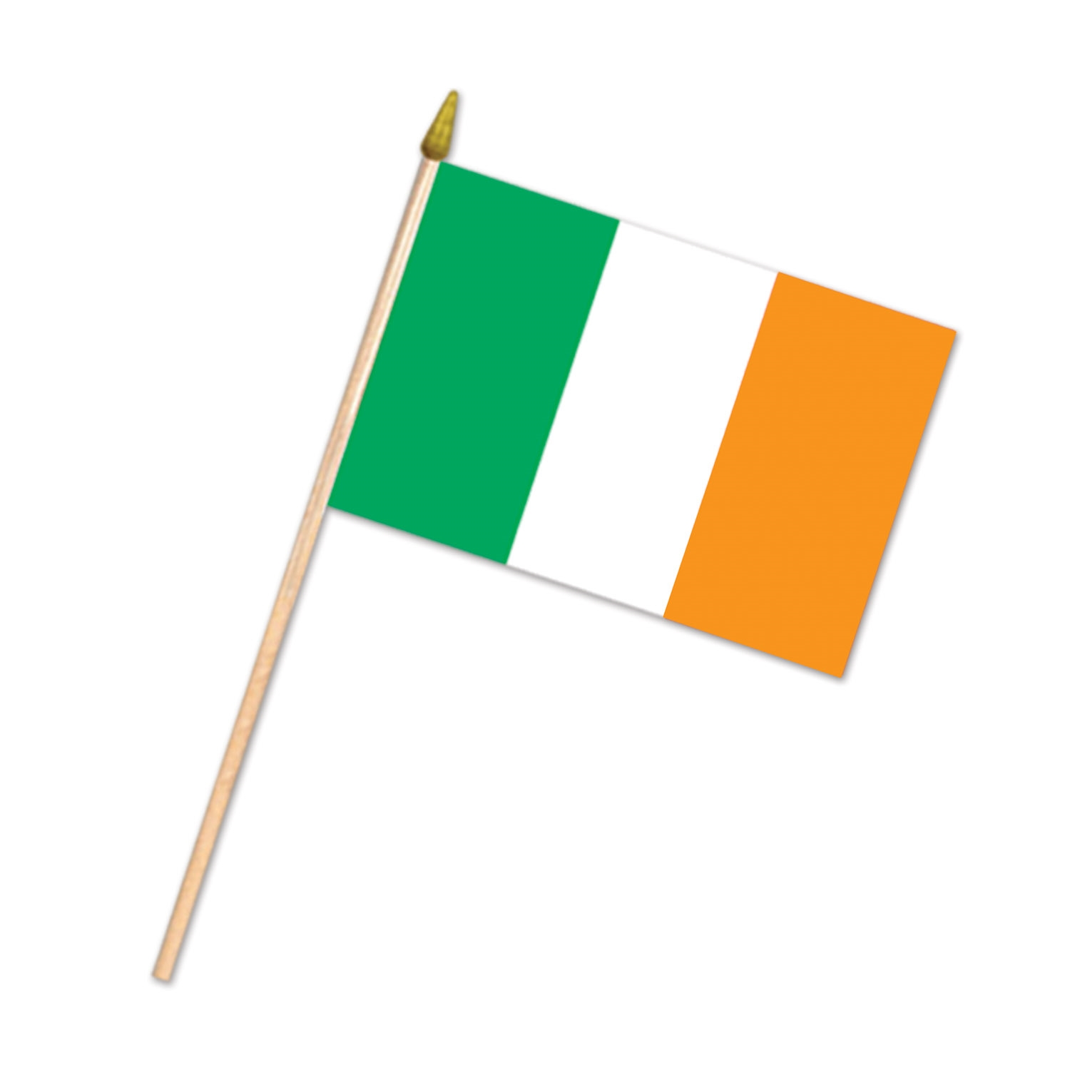 Irish Flag - Fabric (Pack of 12) Irish Flag, Fabric, party favor, decoration, wholesale, inexpensive, bulk
