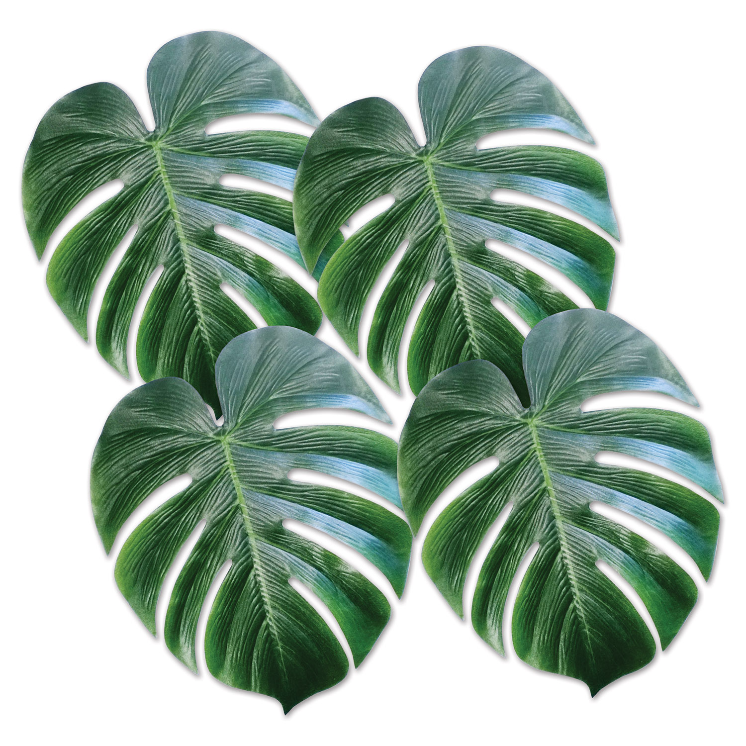 Tropical Palm Leaves (Pack of 48) Luau, tropical, hawaiian, hula, plam tree, leaves
