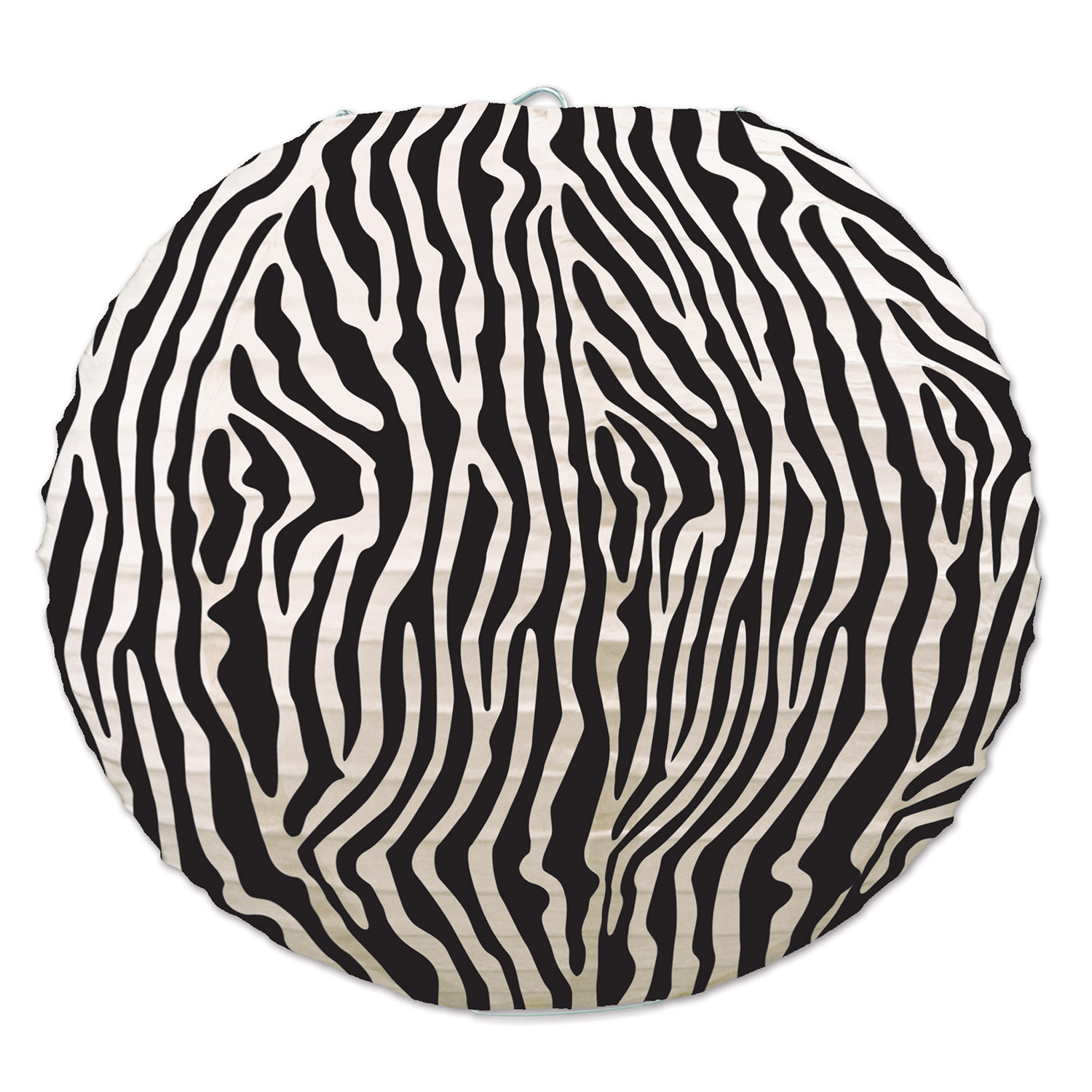 Zebra Print Paper Lanterns (Pack of 18) Zebra Print Paper Lanterns, decoration, safari, luau, new years eve, wholesale, inexpensive, bulk