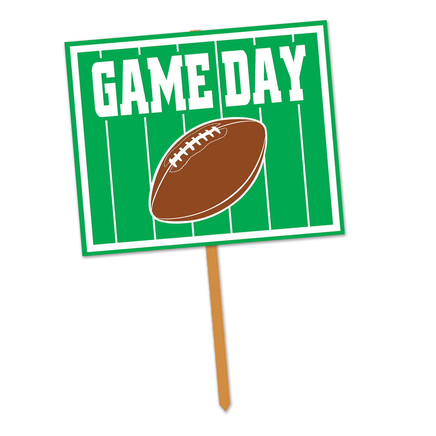 Game Day Yard Sign (Pack of 6) games, sports, yard sign, sign, yard, football, competition, big game, game day