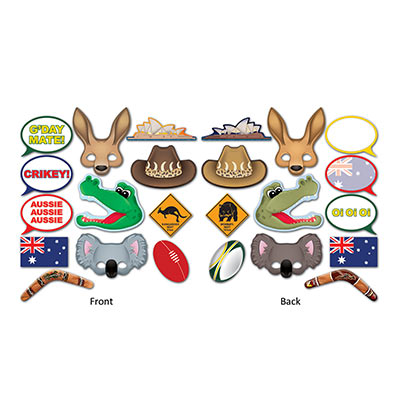 Australian Photo Fun Signs (Pack of 144) Australian, Photo, Fun, Signs, pictures, around the world, international, travel, vacation