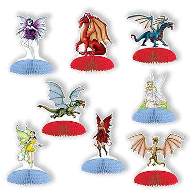 Fantasy Mini Centerpieces (Pack of 96) Birthday, mini. fantasy, centerpieces, medival, party