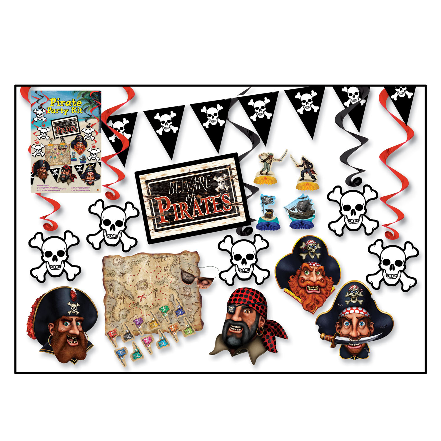 pirate caribbean decor pin party the pirates a of from decorations our few