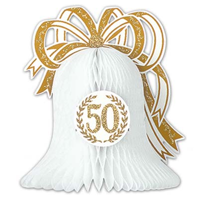 50th Anniversary Centerpiece (Pack of 12) 50th Anniversary Centerpiece, 50, 50th anniversary, anniversary, decoration, centerpiece, wholesale, inexpensive, bulk