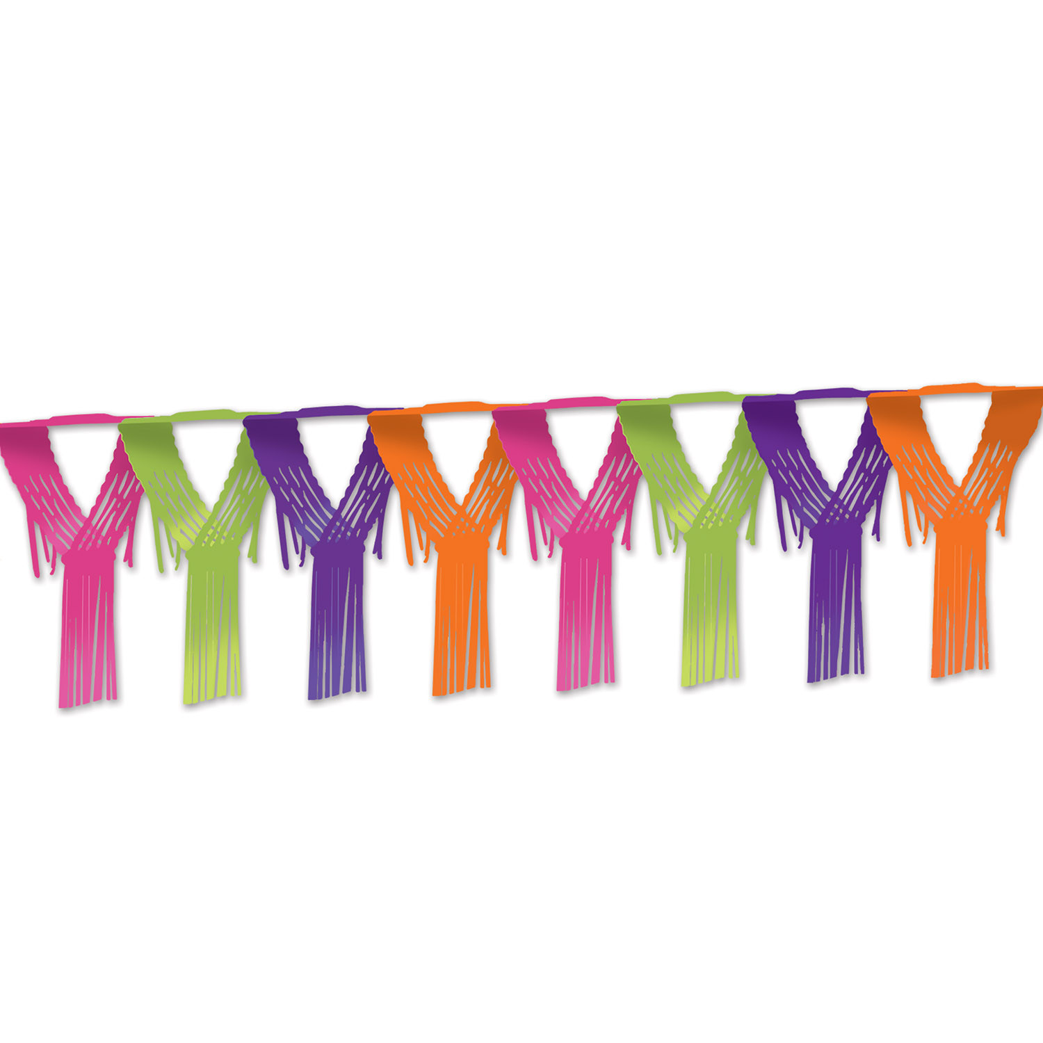 Drop Fringe Garland (Pack of 12) Fiesta Garland, Fringe Garland, Mexican decor, Day of the dead ideas, Inexpensive hanging decor, Drop Garland, Neon decor, Wholesale party, Bulk party, Cheap party, Party Ideas, Luau supplies, Island themed