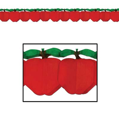 Red Apple Garland Hanging Decoration