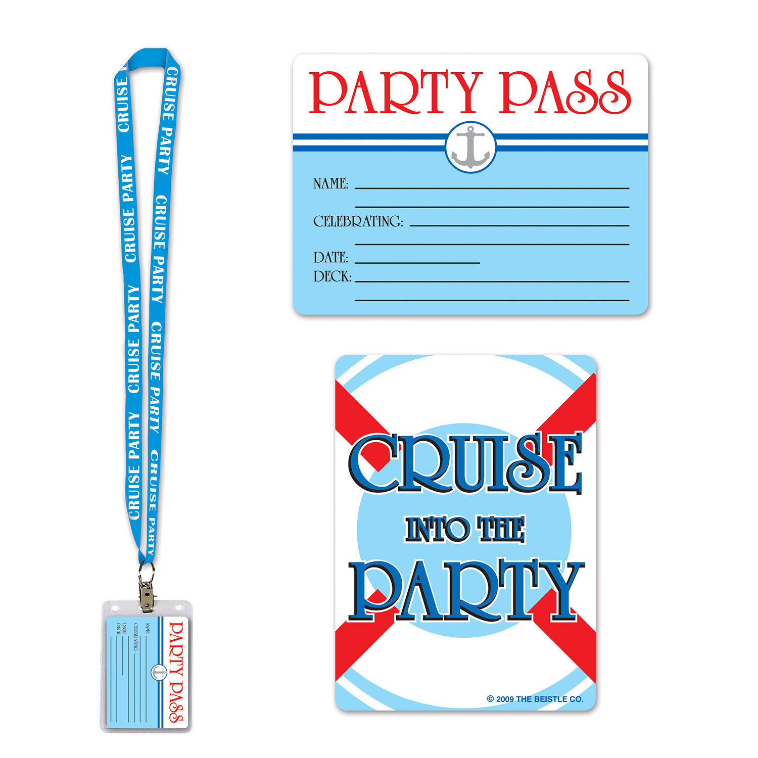 Cruise Ship Party Pass (Pack of 12) party, pass, party pass, cruise, cruise ship, vacation