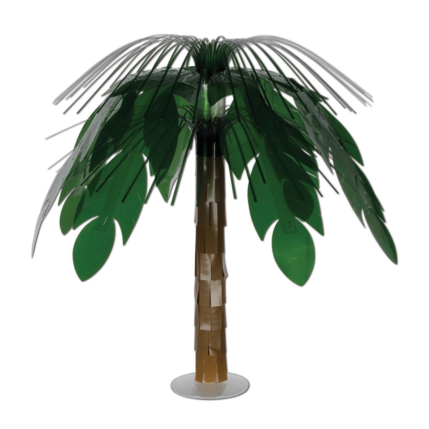 Jungle Palm Cascade Centerpiece (Pack of 6) jungle, luau, palm tree, centerpiece, table, tropical, hawaii