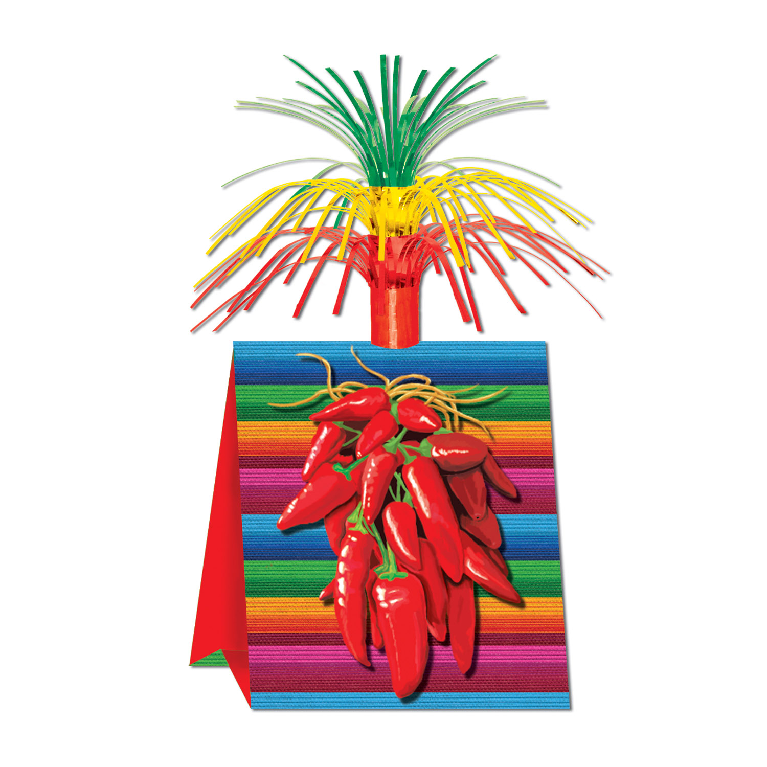 Chili Pepper Centerpiece (Pack of 12) Chili Pepper Centerpiece, centerpiece, cinco de mayo, decoration, wholesale, inexpensive, bulk