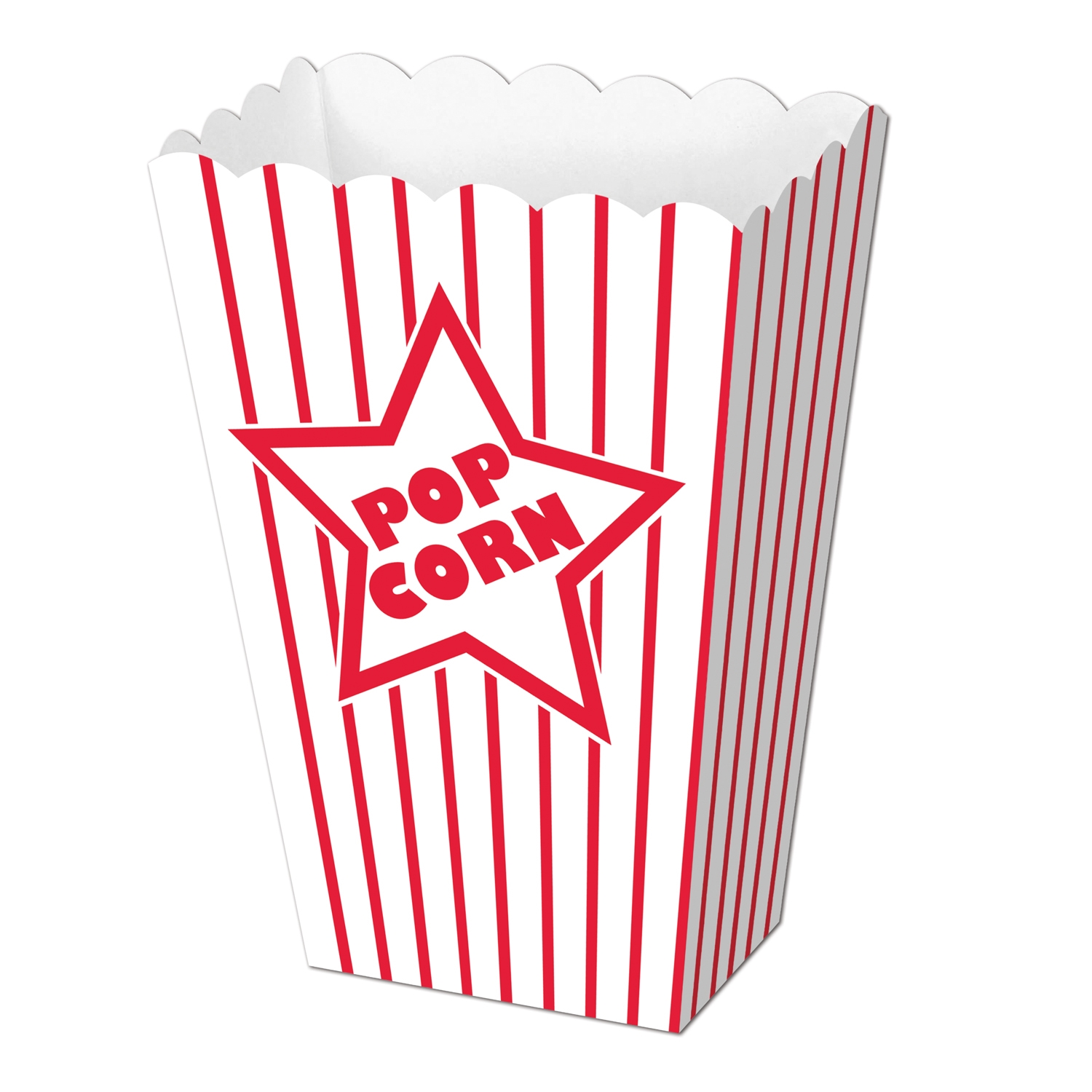 Paper Popcorn Boxes (Pack of 12) Paper Popcorn Boxes, decoration wholesale, inexpensive, bulk, new years eve, hollywood
