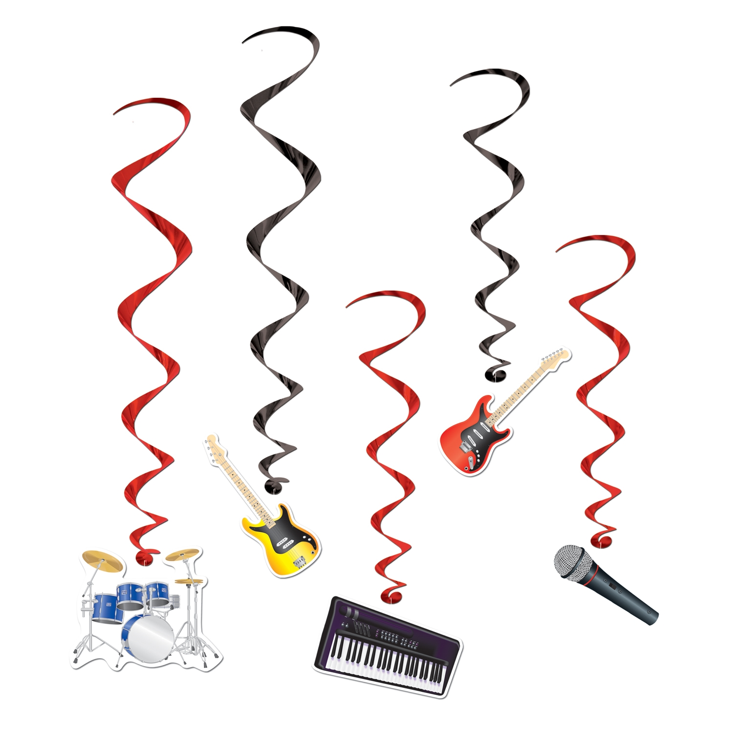 Band Whirls (Pack of 30) bands, instruments, whirls, band instruments, music
