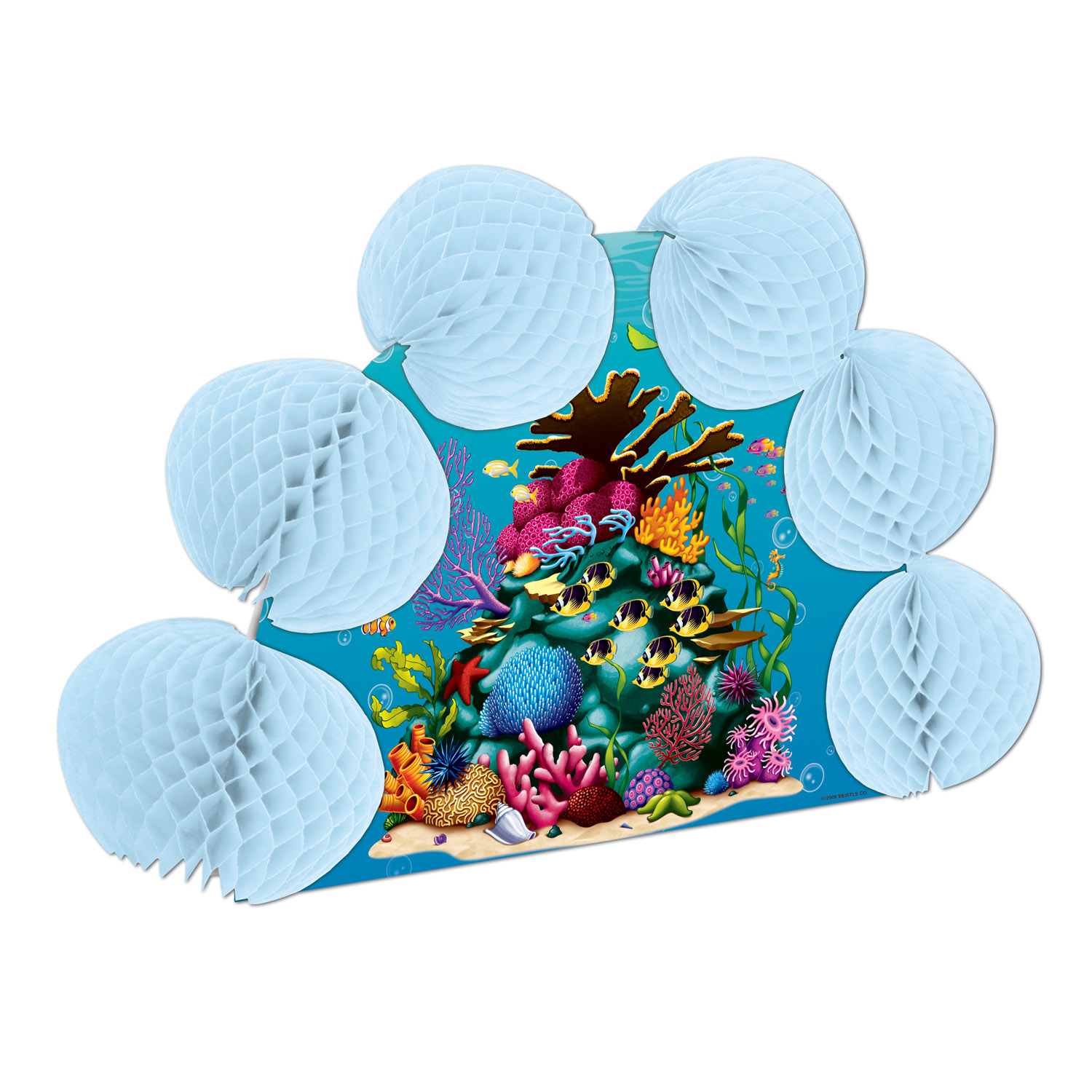 Coral Reef Pop-Over Centerpiece (Pack of 12) .