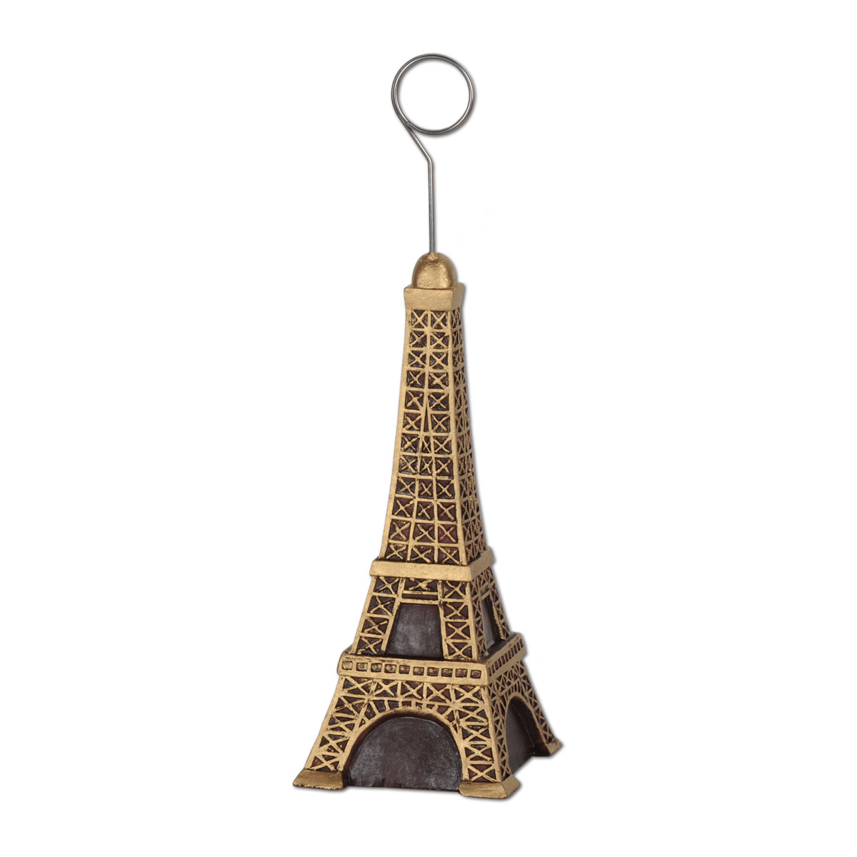 6oz Eiffel Tower Photo/Balloon Holder Eiffel Tower Centerpiece, Balloon Holder, Photo Menu Holder, Wholesale party decorations, Inexpensive party decor, Paris themed