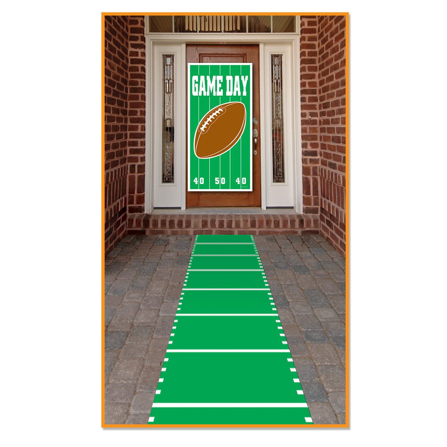 Sports Field Runner (Pack of 6) game day, football, sports, super bowl, runner