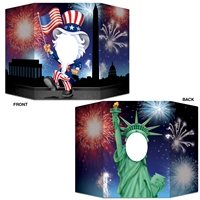 Patriotic Photo Prop (Pack of 6) Patriotic Photo Prop, patriotic, july 4th, new year's eve, decoration, statue of liberty, uncle sam, wholesale, inexpensive, bulk
