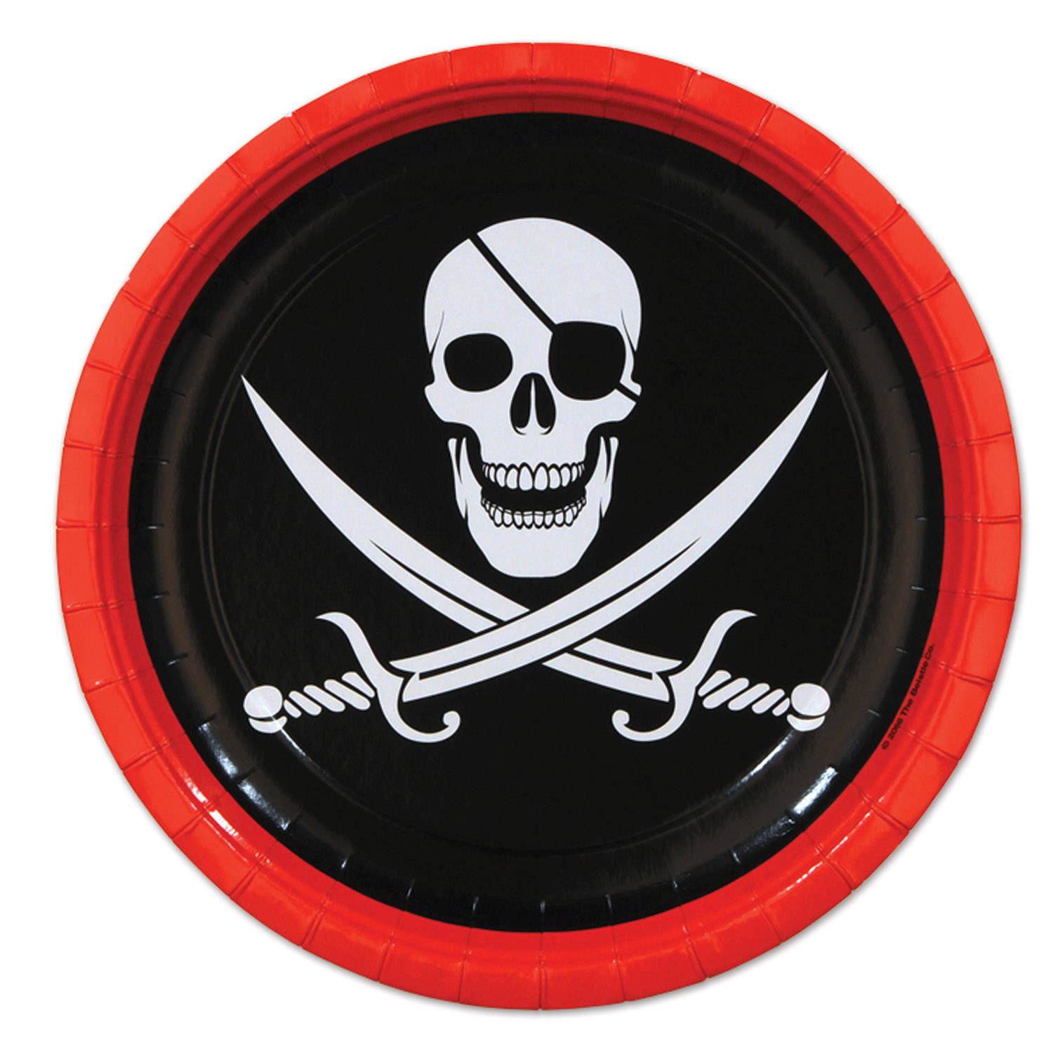 Pirate Plates (Pack of 96) Pirate Party, Table Decor, Tableware, Pirate Ideas, Wholesale party supplies, Cheap plates, Pirate Plates, Pirate dinnerware, Inexpensive party supplies, Birthday ideas
