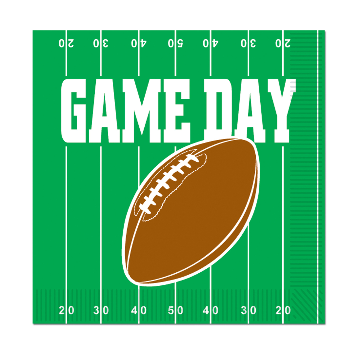 Game Day Football Luncheon Napkins (Pack of 192) Game Day Football Luncheon Napkins, decoration, football, superbowl, big game, wholesale, inexpensive, bulk