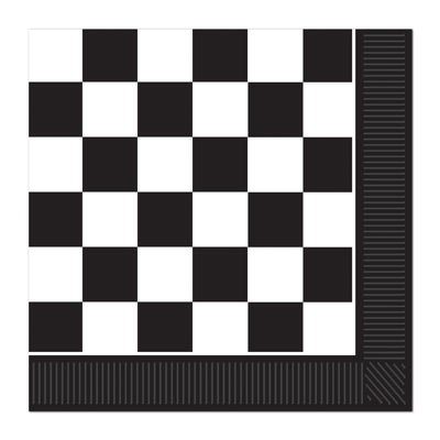 Checkered Luncheon Napkins