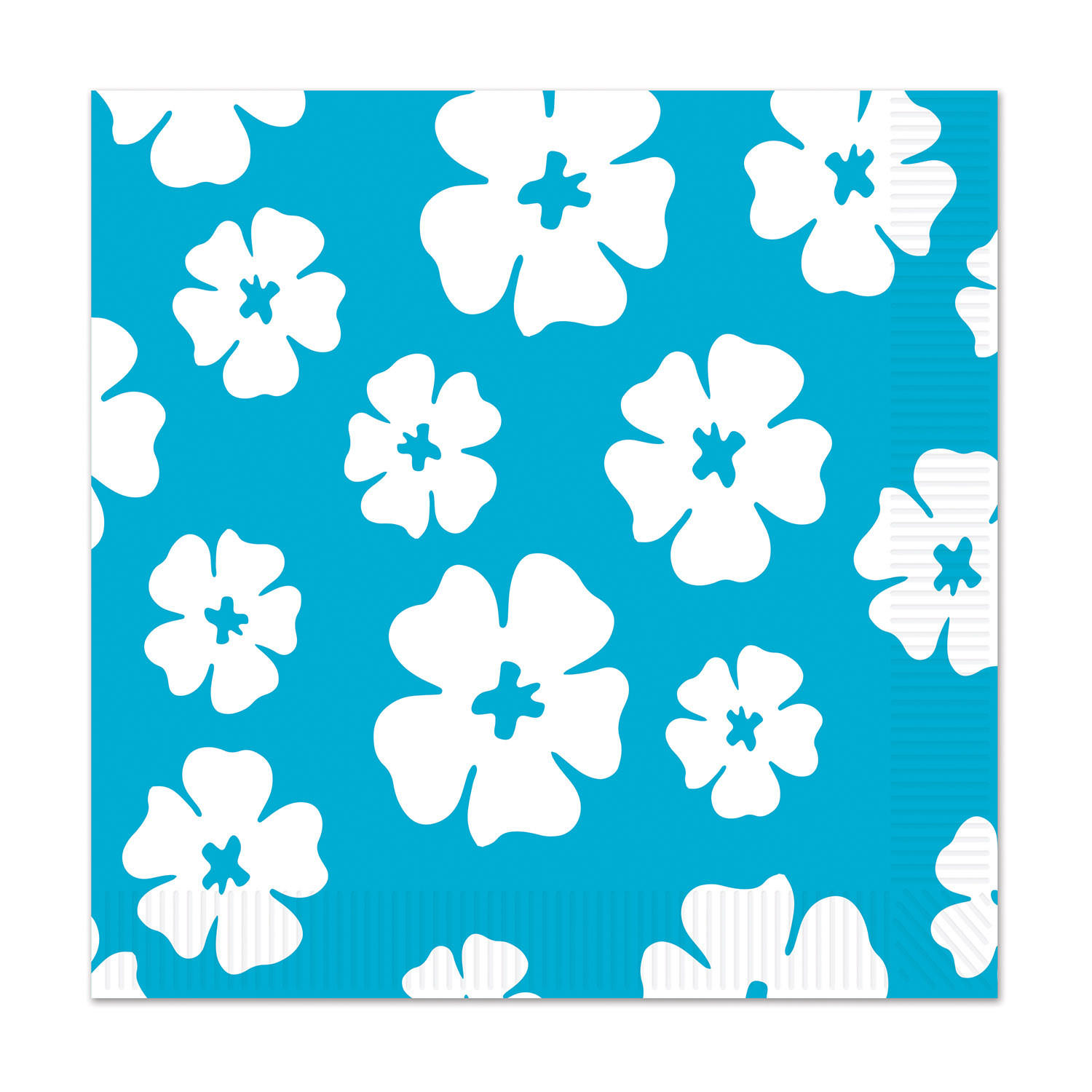 Hibiscus Luncheon Napkins (Pack of 192) Hibiscus Luncheon Napkins, decoration, luau, beach, new years eve, wholesale, inexpensive, bulk