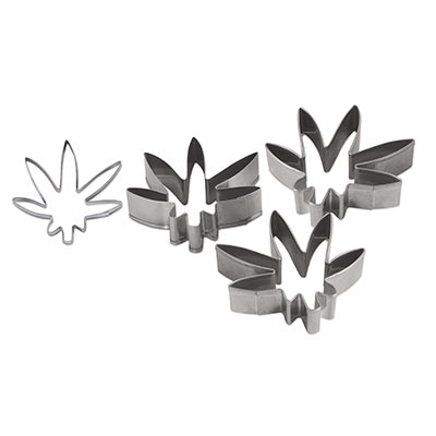 Weed Cookie Cutters (Pack of 36)