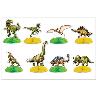 Dinosaur Mini Centerpieces (Pack of 96) Birthday, mini, centerpieces, table top, dinosaur, animals, juingle