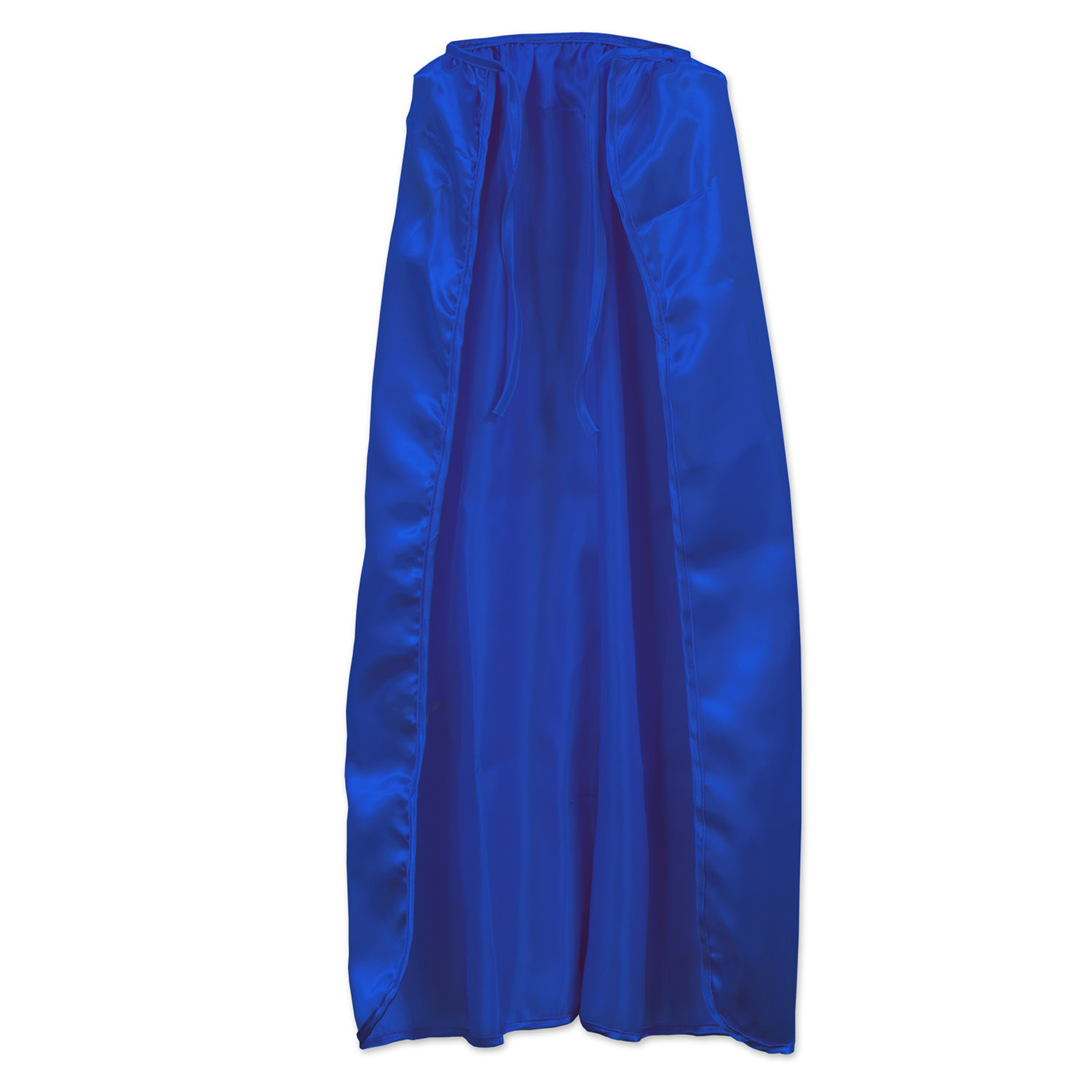 Blue Fabric Capes (Pack of 12) Blue Fabric Capes, team colors, sports, party favor, wholesale, inexpensive, bulk