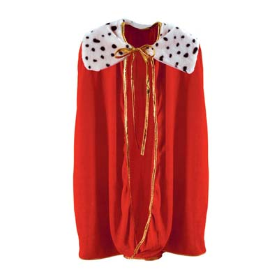 Red Child King/Queen Robe for a Medieval themed party