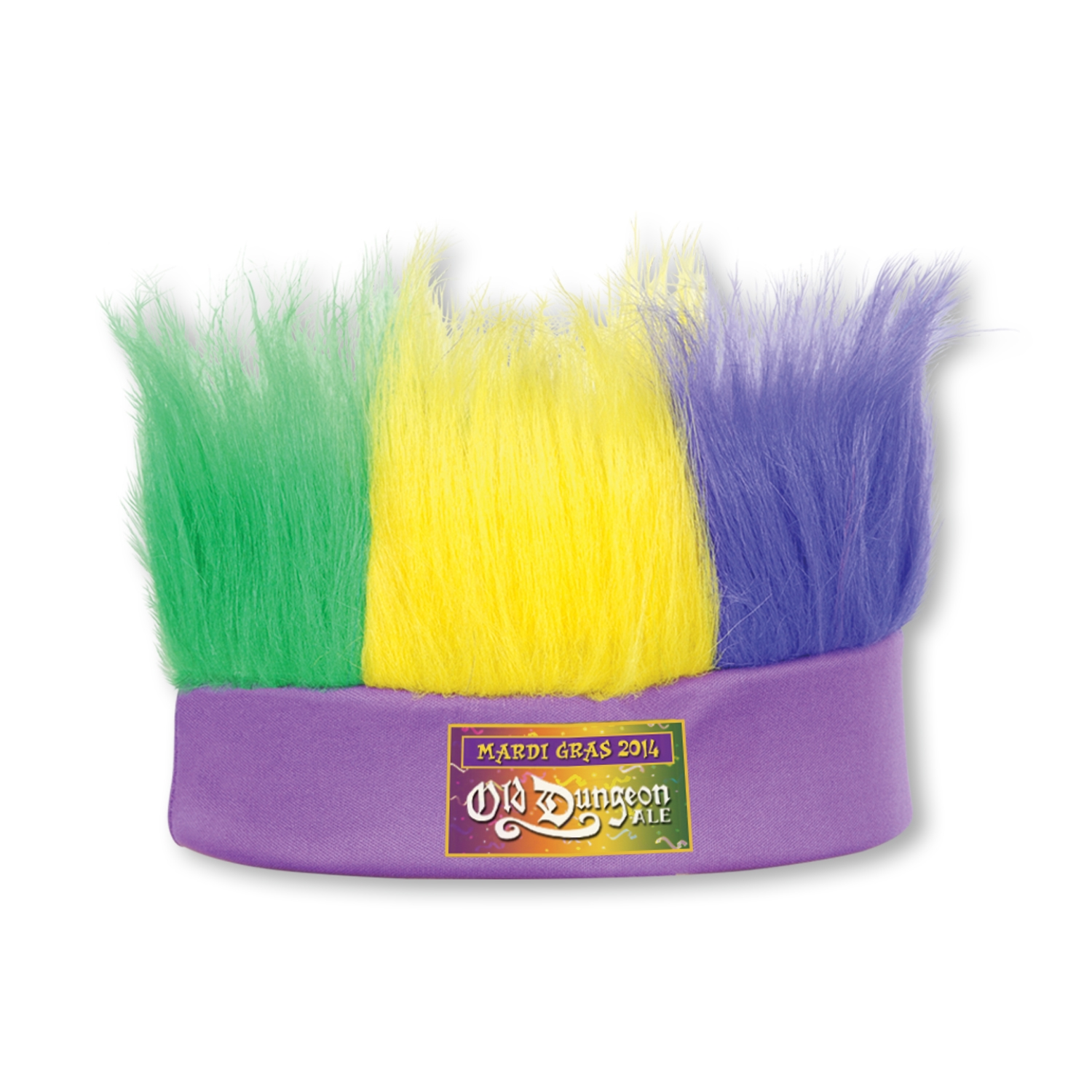 Custom Mardi Gras Hairy Headbands Custom Mardi Gras Hairy Headbands, custom, mardi gras, party favor, headbands, wholesale, inexpensive, bulk