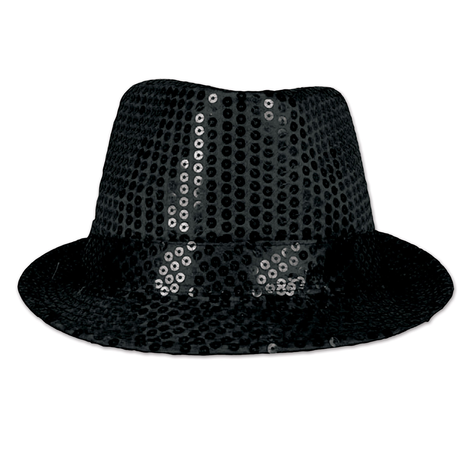 Glitz N Gleam Fedora (Pack of 6) 20s, 1920s, gangster, gatsby, new years eve, fedora, sequins